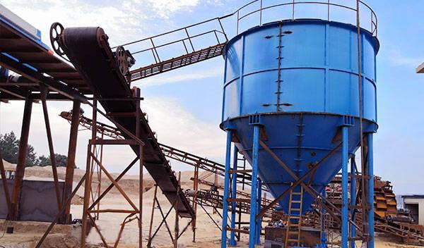 sludge paste thickener