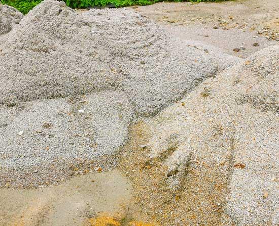 machine-sand