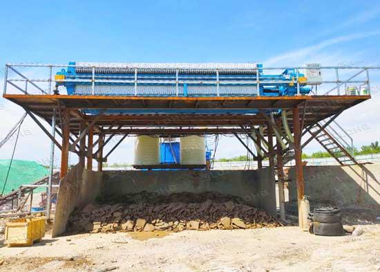 sand-washing-filter-press-machine