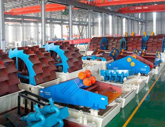 wheel-sand-washing-dewatering-machine