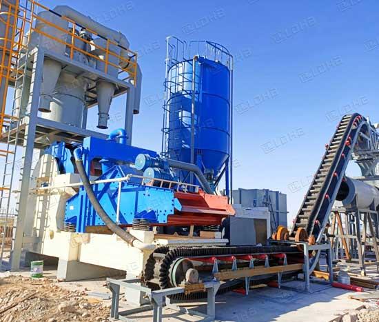 sand-dewatering-machine-process