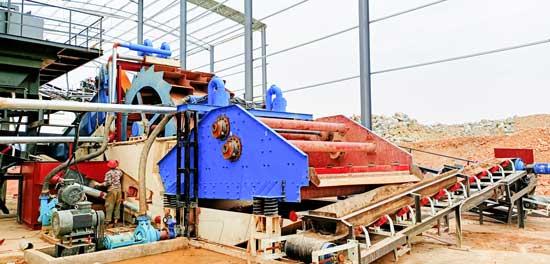 sand-washing-process-machine